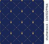 princess crown. seamless... | Shutterstock .eps vector #1065029966