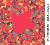 rhombus backdrop minimal... | Shutterstock .eps vector #1065035216