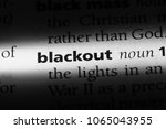 Blackout Word In A Dictionary....