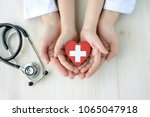 medical concepts  safe support | Shutterstock . vector #1065047918