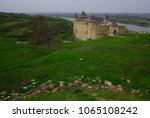 historical temple on a hill.... | Shutterstock . vector #1065108242