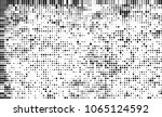 halftone is black and white. a... | Shutterstock .eps vector #1065124592