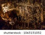 postojna cave  slovenia.... | Shutterstock . vector #1065151052