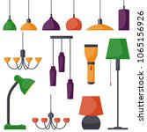 Lamps Of Different Types  Set....