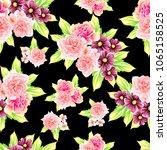 abstract elegance seamless... | Shutterstock .eps vector #1065158525