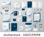 corporate branding identity... | Shutterstock .eps vector #1065159098