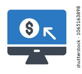 payment lcd buying  | Shutterstock .eps vector #1065163898