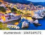 dubrovnik  croatia. spectacular ...   Shutterstock . vector #1065169172