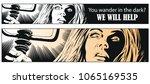 stock illustration. people in... | Shutterstock .eps vector #1065169535