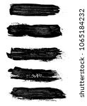 set different grunge brush... | Shutterstock .eps vector #1065184232