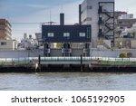 sumida river  tokyo  japan  ...   Shutterstock . vector #1065192905