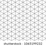 vector seamless geometric... | Shutterstock .eps vector #1065199232