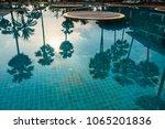 prachuab khirikhan  thailand  ... | Shutterstock . vector #1065201836