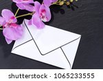 Blank Mourning Card With...