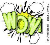 comic design speech bubbles ...   Shutterstock .eps vector #1065249452