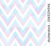 pastel color zigzag pattern | Shutterstock .eps vector #1065254546