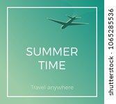 summer time banner wallpaper... | Shutterstock .eps vector #1065285536
