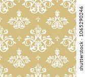 classic seamless vector pattern.... | Shutterstock .eps vector #1065290246