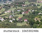 mountain village in turkey.... | Shutterstock . vector #1065302486