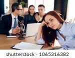depressed mother  deprived of... | Shutterstock . vector #1065316382
