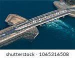 Aerial View Of The Tidal Power...