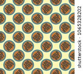sold out seamless pattern with... | Shutterstock .eps vector #1065328202