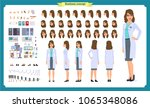 scientist character creation... | Shutterstock .eps vector #1065348086
