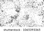 halftone is black and white. a... | Shutterstock .eps vector #1065393365