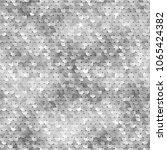 seamless silver texture of... | Shutterstock .eps vector #1065424382