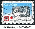 finland   circa 1970  stamp... | Shutterstock . vector #106542482