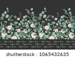 elegant seamless pattern with... | Shutterstock .eps vector #1065432635