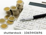 tax calculation every year... | Shutterstock . vector #1065443696