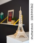 Tour Eiffel Wooden Model Of Th...