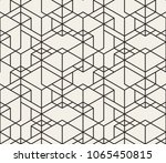 abstract geometric pattern with ... | Shutterstock .eps vector #1065450815