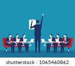 presentation. business... | Shutterstock .eps vector #1065460862