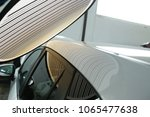 hail damage on a car  service... | Shutterstock . vector #1065477638
