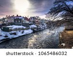 the historic center of the town ... | Shutterstock . vector #1065486032