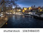the historic center of the town ... | Shutterstock . vector #1065486035