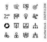 icons management with... | Shutterstock .eps vector #1065511208