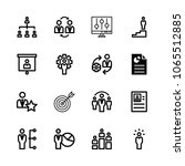 icons management with...   Shutterstock .eps vector #1065512885