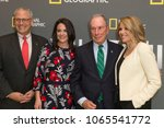 Small photo of New York, NY - April 9, 2018: Gary Knell, Courteney Monroe, Michael Bloomberg, Katie Couric attend National Geographic presents America Inside Out with Katie Couric at Museum of Modern Art