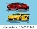 super luxury car for people who ...   Shutterstock .eps vector #1065571445