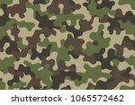 camouflage seamless pattern.... | Shutterstock .eps vector #1065572462