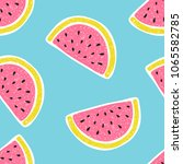 seamless pattern with... | Shutterstock .eps vector #1065582785