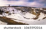 the open air copper mine of... | Shutterstock . vector #1065592016