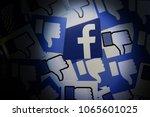 penang  malaysia   april 10 ... | Shutterstock . vector #1065601025
