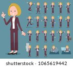 a set of women with who express ...   Shutterstock .eps vector #1065619442