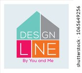 design vector logo . decoration ... | Shutterstock .eps vector #1065649256