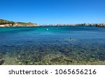 panoramic view from mistra bay... | Shutterstock . vector #1065656216