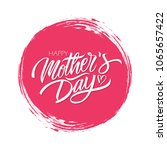 happy mother's day celebrate... | Shutterstock .eps vector #1065657422